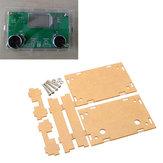5 Pcs Folha de Acrílico Transparente Habitação Caso Para DSP & PLL Digital Stereo Módulo Receptor de Rádio FM
