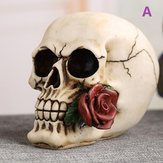Halloween Taro Ashtray Home Jewelry Decorations Mouth Biting Rose Taro Ashtray