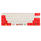 108 ключей Рождественский набор колпачков OEM Профиль PBT сублимационные колпачки для ключей для Механический Клавиатура