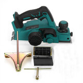 15000rpm Electric Planer Woodworking Cutting Machine For Makita 18v Battery
