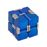 LigadeAlumínioPremiumInfinityCube Deformação Mágica Cube Fidget Brinquedos EDC Stress Relief Toy