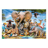 1000 Pieces Jigsaw Puzzle Toy Animals Plants Decompression Jigsaw Puzzle for Adults Kids Educational Toys