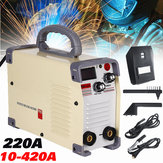 MMA-420 220V Inverter ARC Stick Welding Machine IGBT Clamp Welder with Thrust