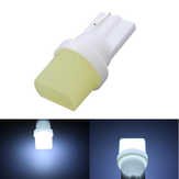 Ceramic T10 W5W 194 COB LED Car Side Marker Light Bulb Interior Reading Light Lamp 12V White