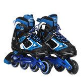 Kids Inline Skates Size Adjustable Rollerblades Teens Skate Shoes Roller Skates For Boys Girls