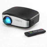 Cheerlux C6 with Screen Projector LED 1200:1 800x480 Support 720p 1080p Home Theater Projector