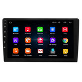 9 Inch 2 DIN Coche Estéreo Radio Cuatro Nucleos Android 8.0 Pantalla táctil bluetooth WIFI GPS Nav Video MP5 Player