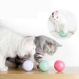 Jouet pour chat USB chat Laser jouet fournitures pour animaux de compagnie LED Flash balle roulante jouet pour chat balle rougeoyante pour jouet pour chat de compagnie