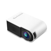 Yg210 1080P Led-miniprojector Contrast 800: 1 ondersteunt resolutie 1920 * 1080 resolutie 320 * 240 3D-home cinema-projector-wit
