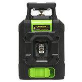 Kit de mesure de niveau horizontal vertical à niveau laser rotatif à 360 ° sur niveau laser rouge