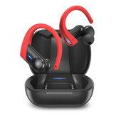 BlitzWolf® AirAux AA-UM12 TWS bluetooth V5.1 Earphone HiFi Stereo Deep Bass Touch Control IPX5 Waterproof Sports Earhooks Headphone with Mic