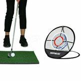 Pitching Chipping Cages Siatki do golfa Maty do ćwiczeń w pomieszczeniach Pomoce treningowe Łatwe narzędzia zewnętrzne