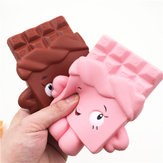 Squishy Chocolate Bar Slow Rising 13 cm Jumbo Cute Kawaii Collection Decor Gift Toy