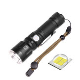 XANES 09-P50 XHP 50 5Modalitàs Torcia telescopica zoomable ricaricabile LED Torcia 18650/26650 LED Torcia