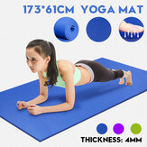 Bakeey Yoga Mat 4MM Thick Resilience Blanket Antiderrapante Proteger Yoga Mat