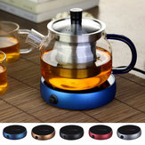 Portable Electric Heating Coasters Coffee Tea Water Heater Glass Mug Pad Warmer Office House Desktop Use