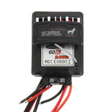 60A 7.4V Brushed Speed Controller ESC For 9125 1/10 RC Car Parts No.25-ZJ07