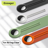 ESSAGER Protective Case Liquid Silicone Shockproof Cover Anti-Lost Protector Location Tracker For Air Tags