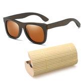 Fashion Round Handmade Bamboo Wooden Sunglasses Box