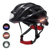 ROCKBROS Cykelhjelm Cykel Vandtæt lys til MTB-cykel USB-opladning til Flido D4s