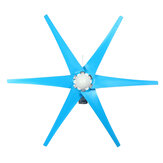 12V/24V 800W Peak 3/6 Blades Wind Turbine Generator Windmill Power with Charge Controller