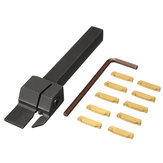 MGEHR 1010-2 10x10 x100mm Grooving Tool Holder With 10pcs MGMN200 Insert Blade For 2mm Cut