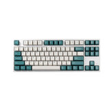 147 Keys Emerald Keycap Set Cherry Profile PBT Two Color Molding Keycaps for Mechanical Keyboards