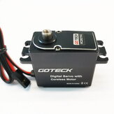 Goteck HC2627SG 29KG Metal Digital Servo Brushless Motor for RC Model Fixed-Wing Aircraft Robot