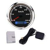 85mm GPS Medidor do velocímetro com GPS Antena 0-30km / h 0-60 km / h 0-120 km / h 0-200km / h