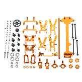 WLtoys 1/18 A949 A959 A969 A979 K929 Kit de peças de metal atualizado Gold Color