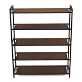 5-Tier Shoe Rack Multi-layer Dust Proof Household Economic Assembly Cabinet