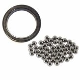66cc 80cc Motor Bike Bicycle 64pcs 3mm Stainless Steel Balls and 57mm Bearing