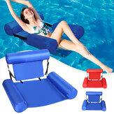 Φουσκωτή πλωτή καρέκλα Πισίνες αιώρα σαλόνι Κρεβάτι πολλαπλών χρήσεων στρώματα νερού για πισίνα Lake Beach River