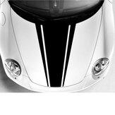 DIY Car Body Bonnet Vinyl Racing Stripe Krijtstreep Decal Stickers 54CMx85CM