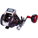 ZANLURE LS3000 6.3:1 15BB Digital Display Casting Reel CNC Machining Aluminum Fishing Reel
