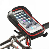 WHEEL UP Rainproof Bike Handlebar Touchscreen Phone Bag Case Uchwyt na telefon komórkowy MTB Frame Pouch Bag