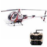JCZK 300C 470L DFC 6CH 3D Flying Scale RC Helicopter RTF GPS One-key Return Hover met AT9S PRO zender