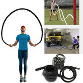 2.8M/3M Fitness Heavy Jump Rope 25mm Diameter Weighted Battle Skipping Ropes Powerful Strength Training Ropes