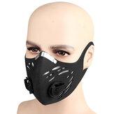 BIKIGHT Ademend fietsen Anti-stof gezichtsmasker Winddicht Anti-condens actieve kool Anti-vervuilingsmaskers