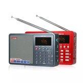Tecsun ICR-110 rádió FM AM MP3 lejátszó Idős felvevő Digitális audio hordozható félvezető hangdoboz TF kártya
