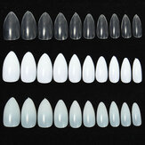 600pcs Amandel Ovale Shape Stiletto Pointy Volle False Nagel Art Tips Claw Acryl Gel Poolse