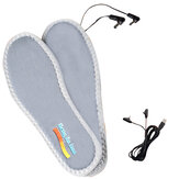 USB Heated Shoe Insoles Feet Warm Sock Pad Mat Electrically Heating Insoles Washable Warm Thermal Insoles Unisex