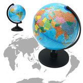 25cm Rotating World Earth Globe Atlas Map Geography Education Xmas Gift