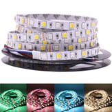 DC12V 5M RGB CCT 5050 5054 SMD LED Non-impermeabile Strip String Light Holiday Home Decoration
