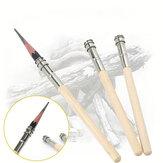 Extensor de lápis ajustável Suporte de alongador de madeira Ferramenta de desenho para pintura, escritório, papelaria, artigos para pintura de esboço