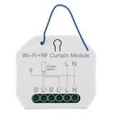 MoesHouse MS-108WR WiFi RF Smart Curtain Blinds Module Switch Roller Shutter Motor Tuya Wireless Remote Control Work with Alexa Google Home
