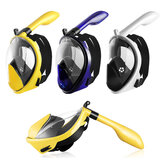 Opvouwbaar Anticondens Snorkelen Panoramisch Duikbril All-Dry Full Face Duikmasker Gopros Mount Onderwater Duikbril Zwemmen Volwassen Kinderen