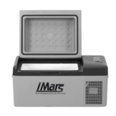 IMar C15 15L Araba Buzdolabı Taşınabilir Kompresör Buzdolabı Soğutucu APP Kontrol Dijital Ekran Dondurucu Için Araba Ev Seyahat Kampçılık
