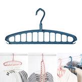 11 Trous Multifonctionnel Tissu Cintre Vêtements Organisateur Rack Camping Voyage