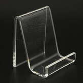 Bakeey Portable Transparent Acrylic Mobile Phone Desktop Holder Stand